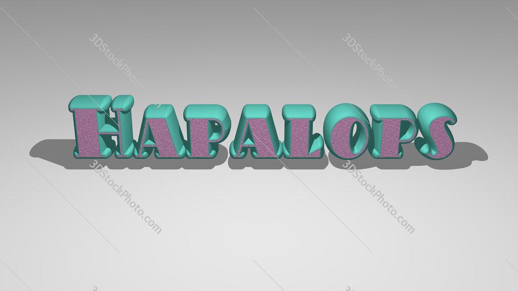 Hapalops