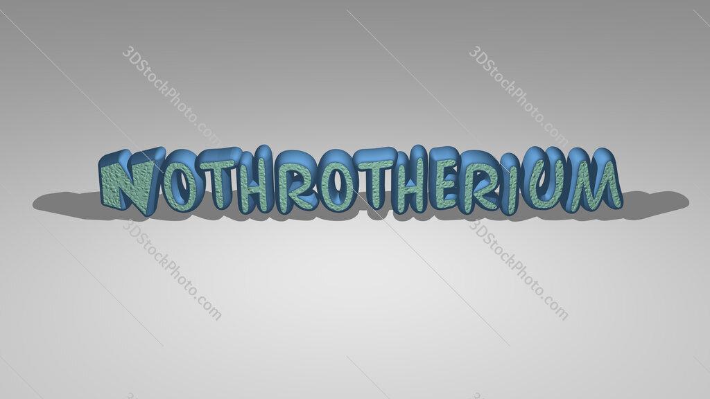 Nothrotherium
