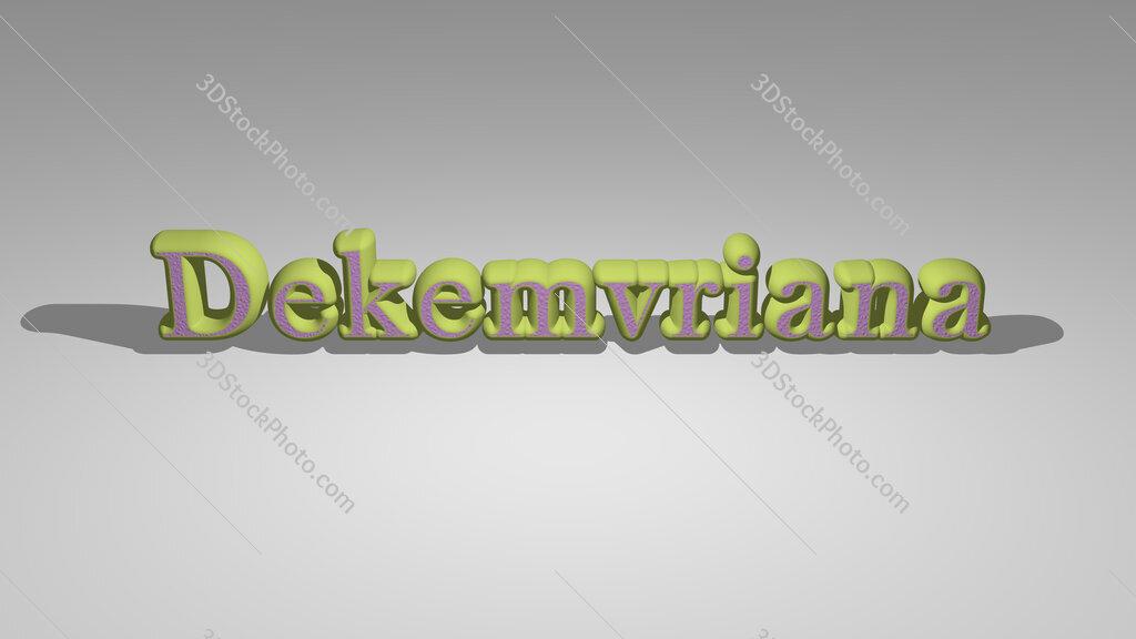 Dekemvriana