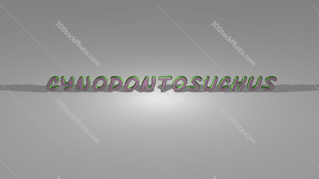 Cynodontosuchus