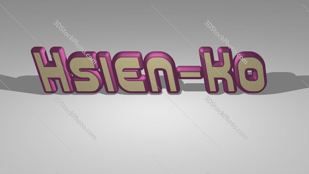 Hsien Ko