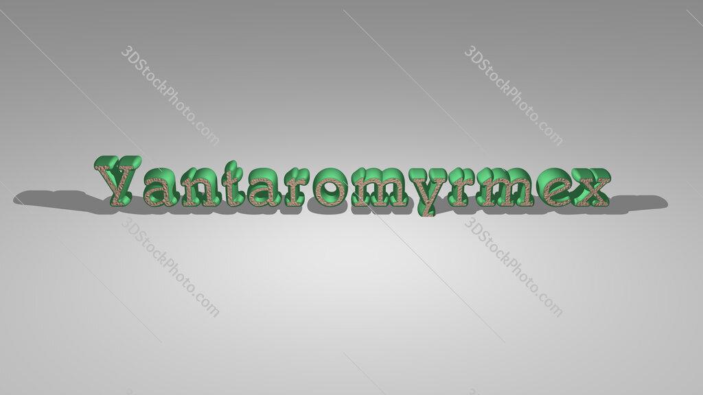 Yantaromyrmex