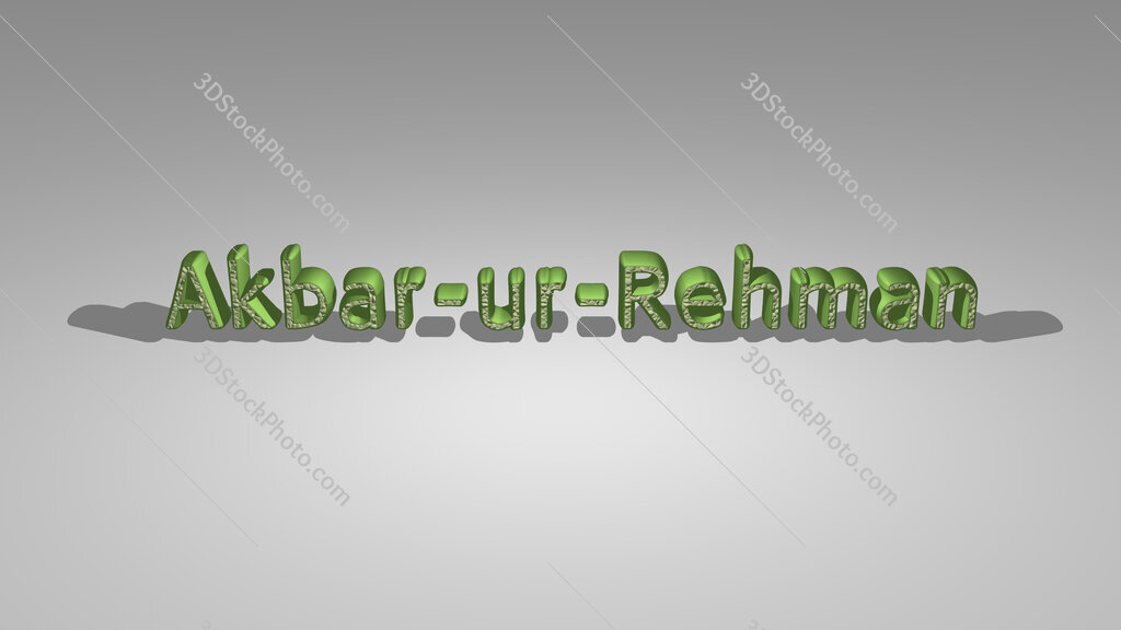 Akbar ur Rehman
