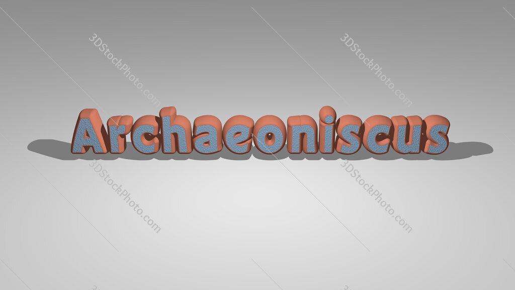 Archaeoniscus