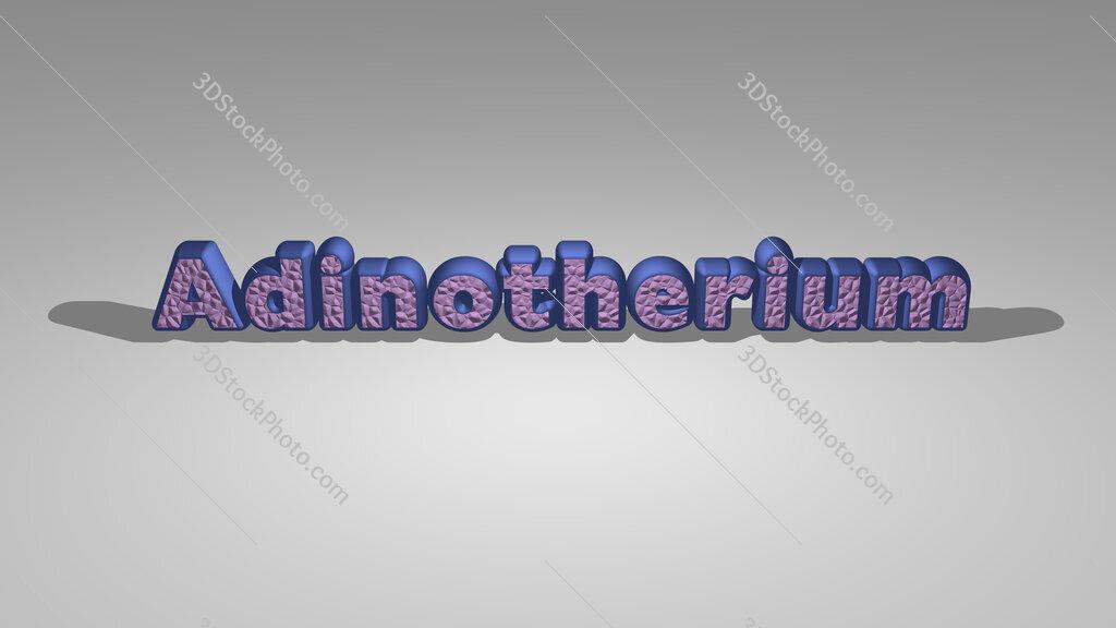 Adinotherium