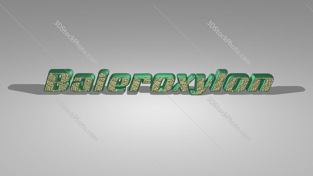 Baieroxylon