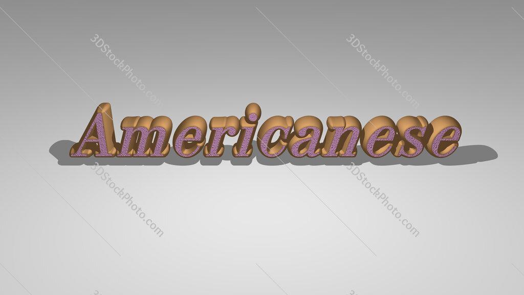 Americanese