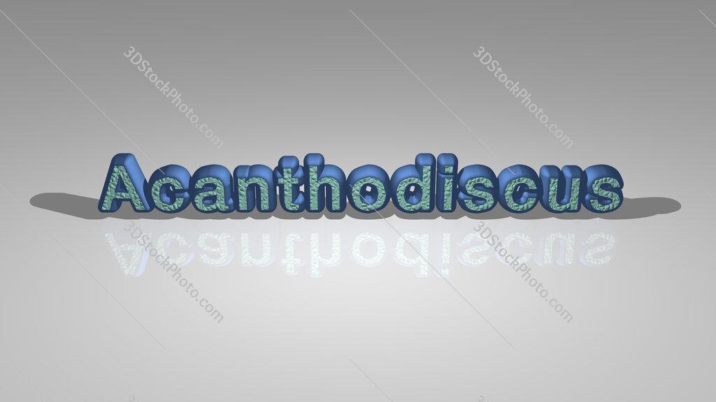 Acanthodiscus