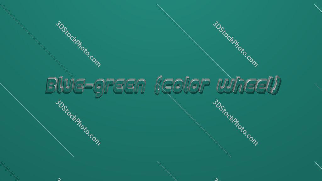 Blue-green (color wheel)