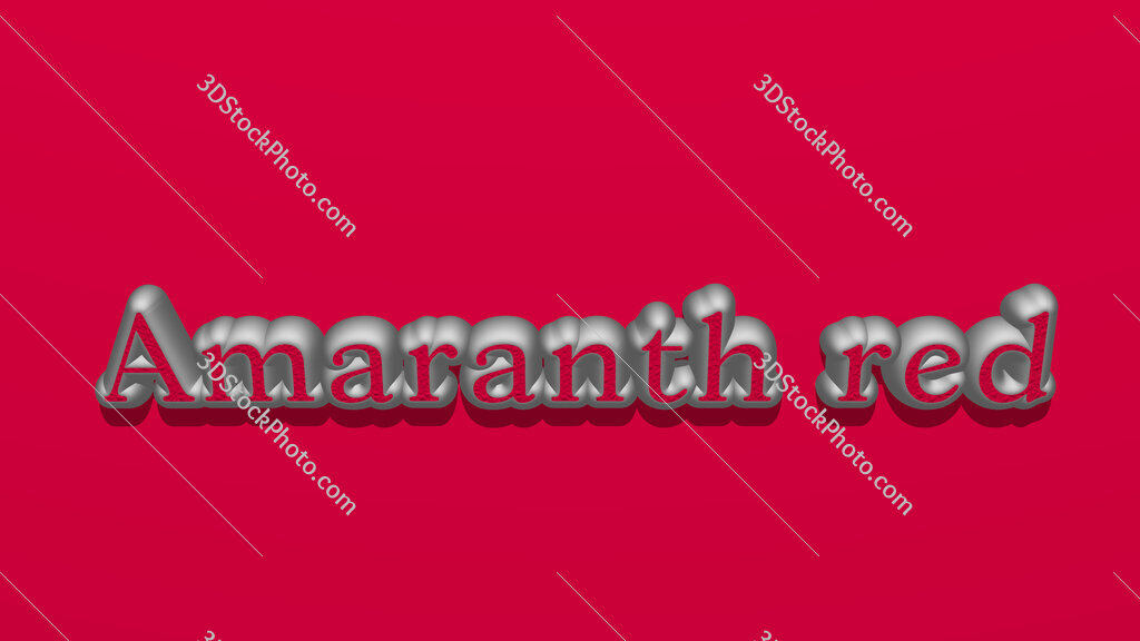 Amaranth red