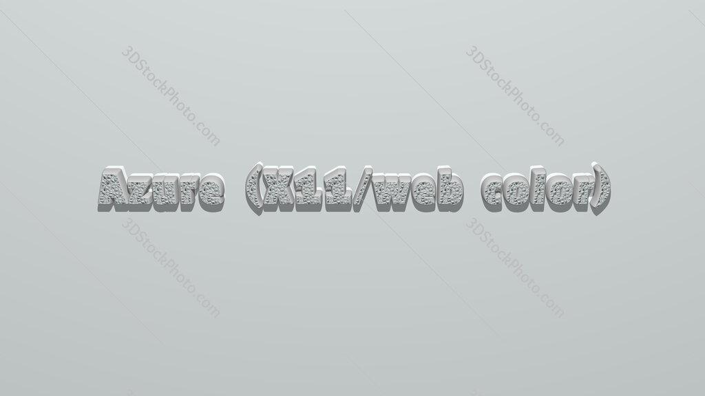 Azure (X11/web color)