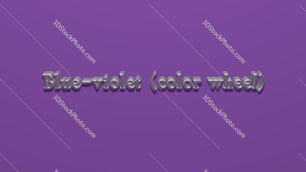 Blue violet (color wheel)