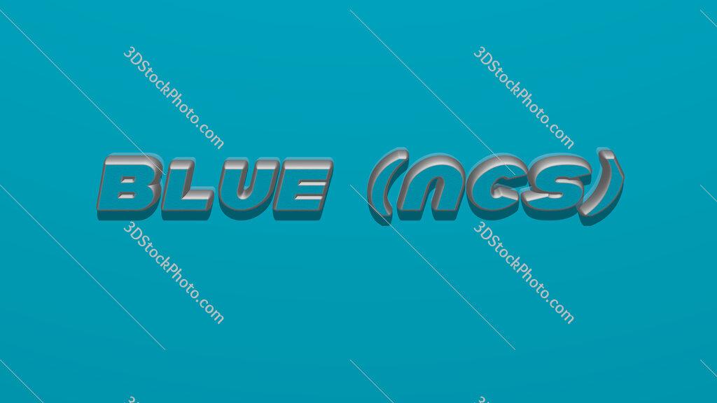 Blue (NCS)