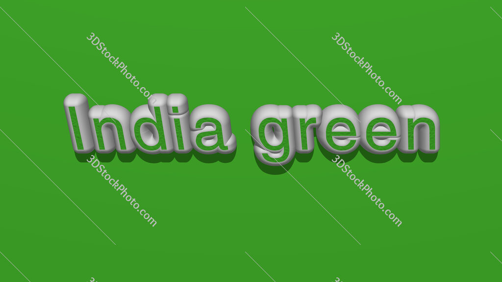 India green