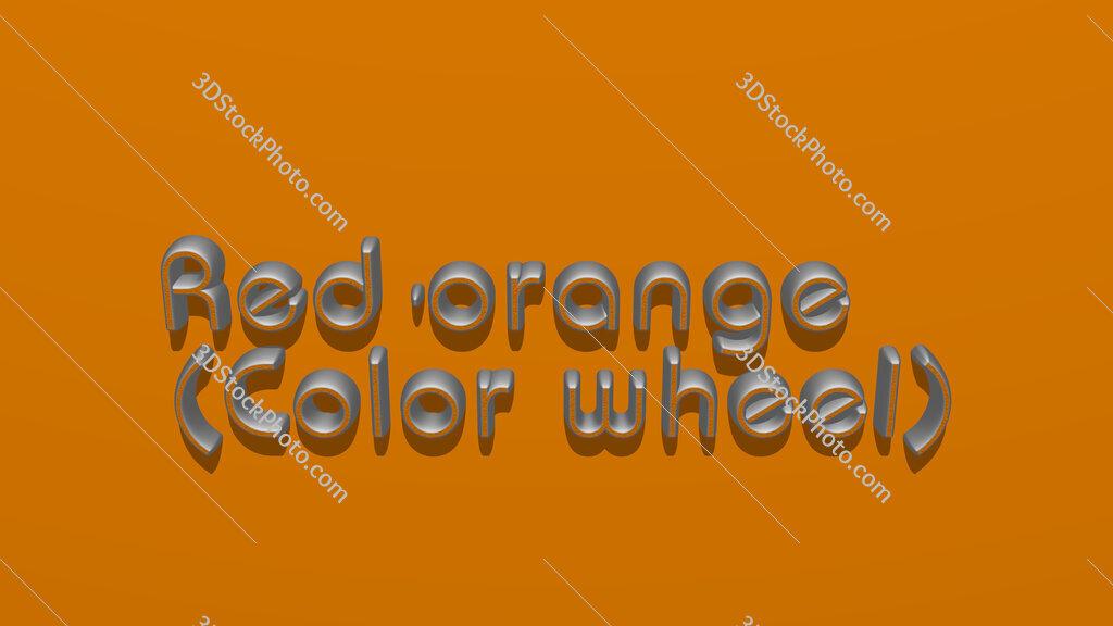 Red-orange (Color wheel)