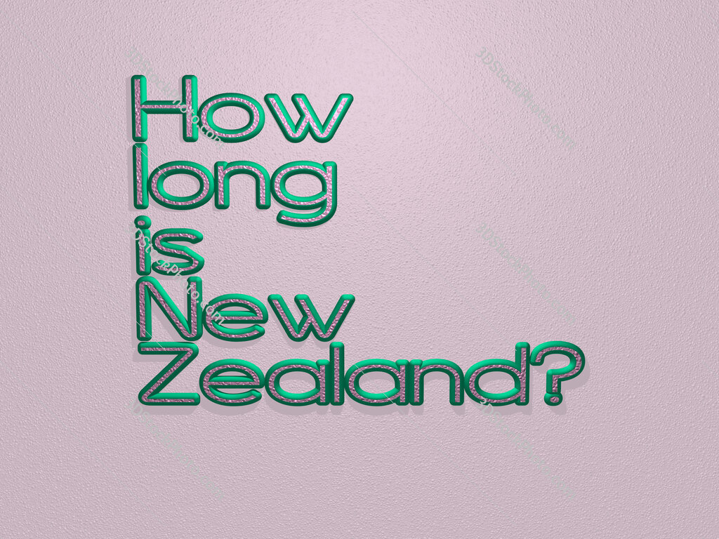 How long is New Zealand?