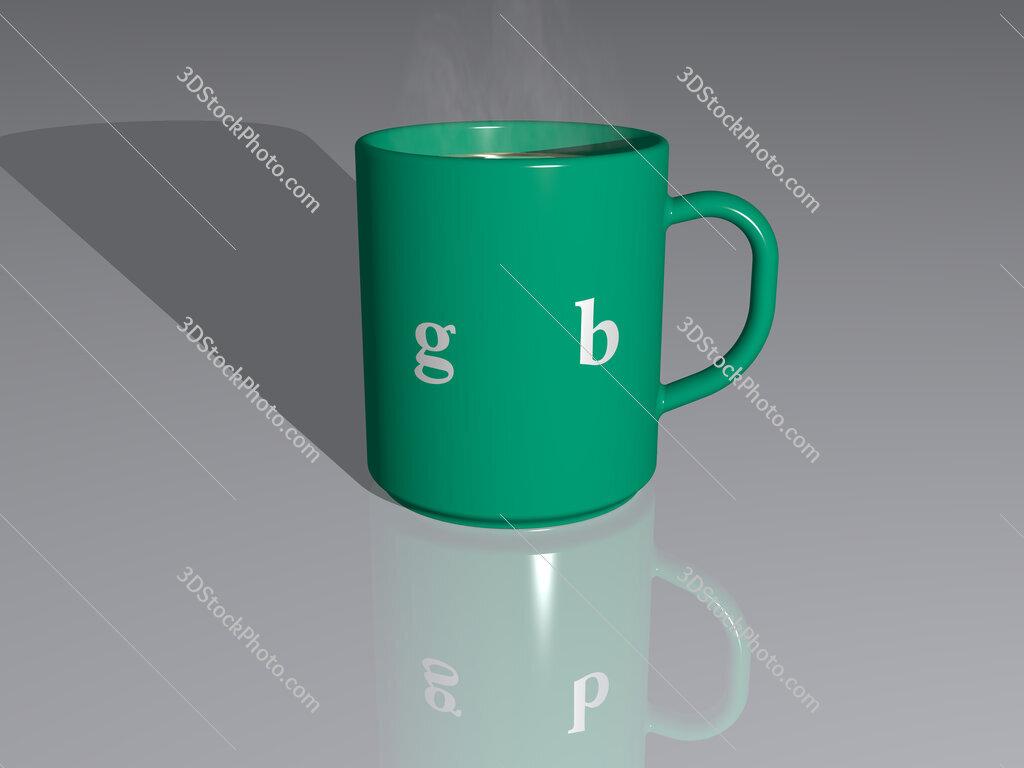 golf belt text on a coffee mug