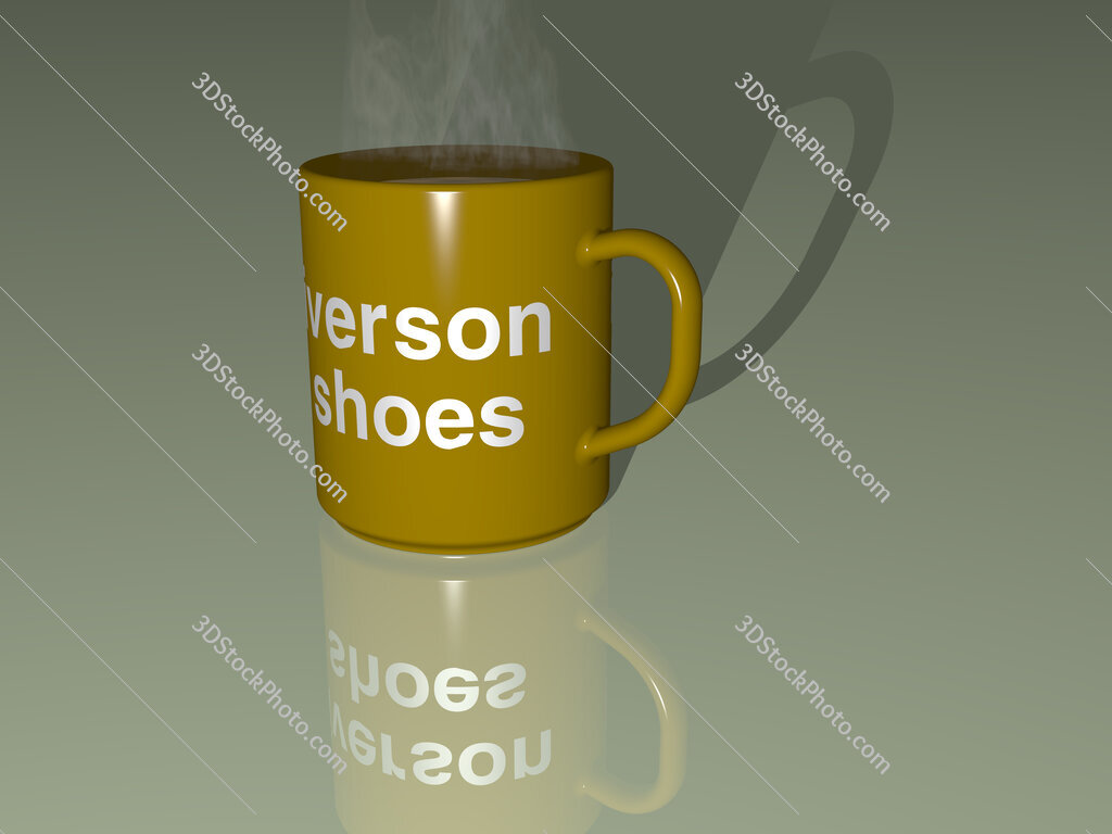 iverson shoes text on a coffee mug