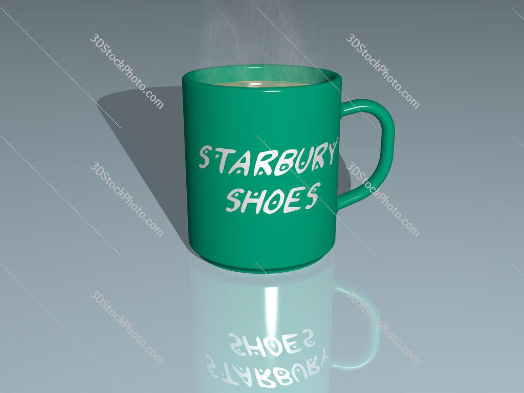 starbury shoes text on a coffee mug