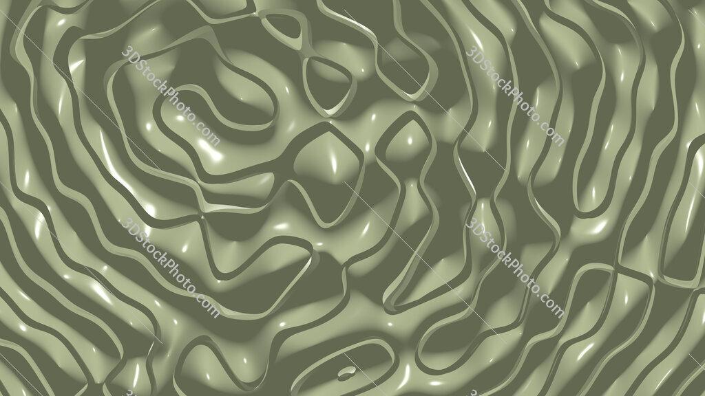 Moss green wavy background texture
