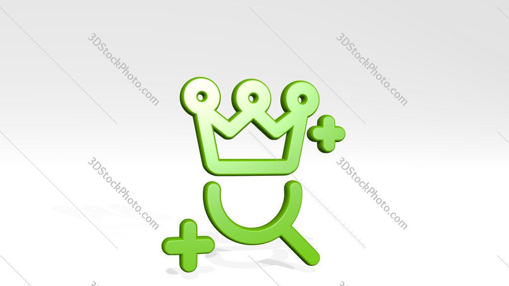seo search reward 3D icon casting shadow