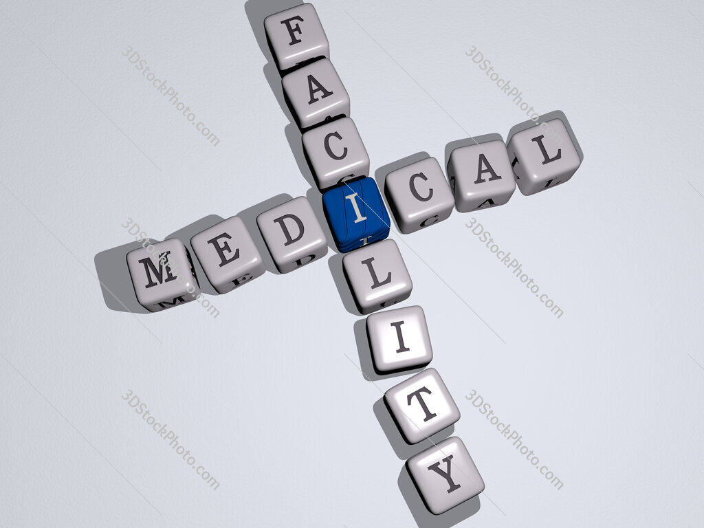 medical facility crossword by cubic dice letters