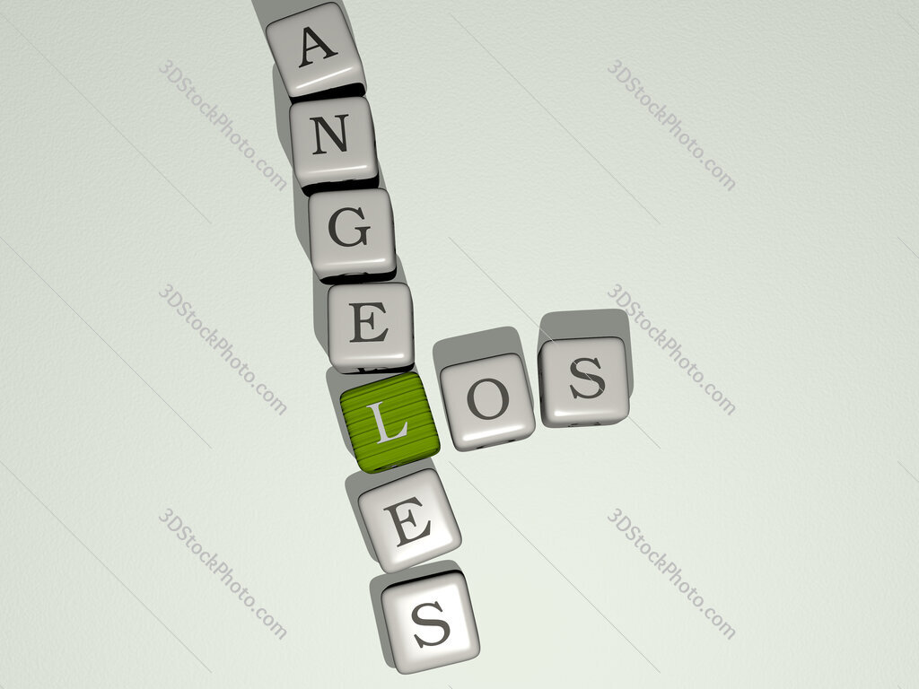 los angeles crossword by cubic dice letters