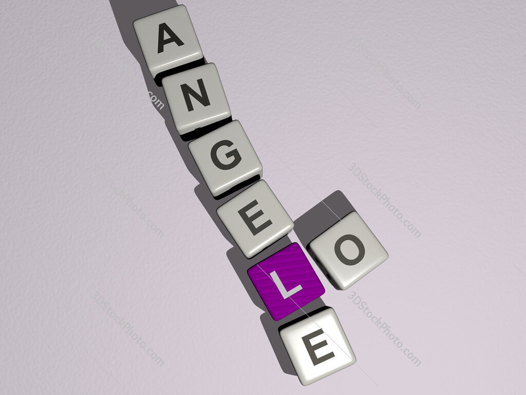 lo angele crossword by cubic dice letters