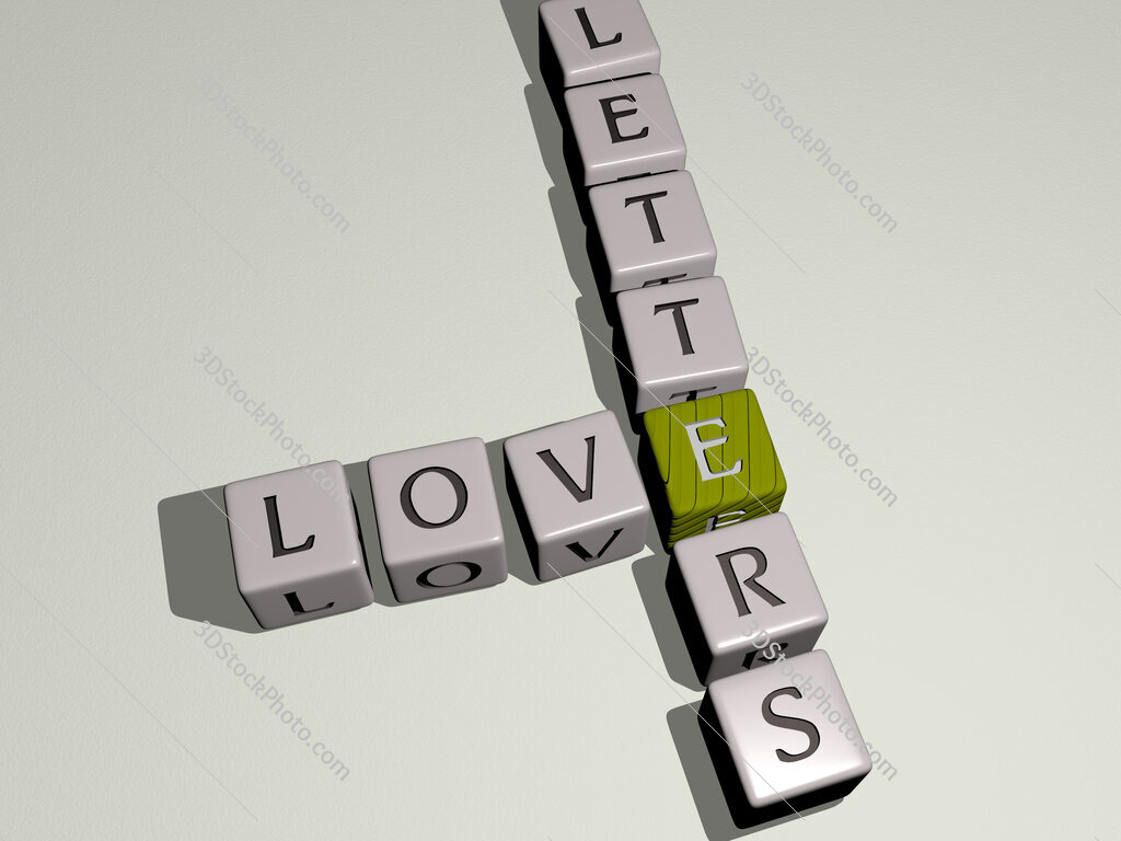 love letters crossword by cubic dice letters