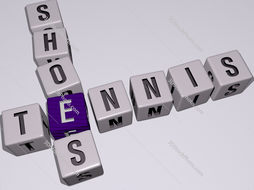 tennis shoes crossword by cubic dice letters