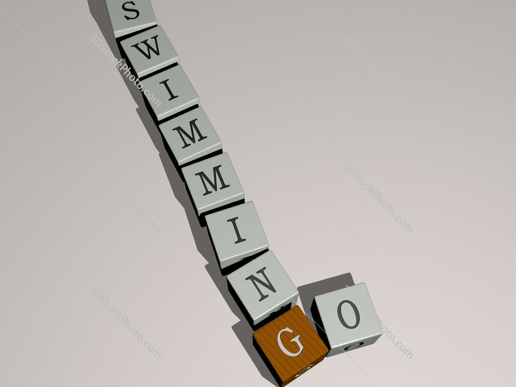 go swimming crossword by cubic dice letters