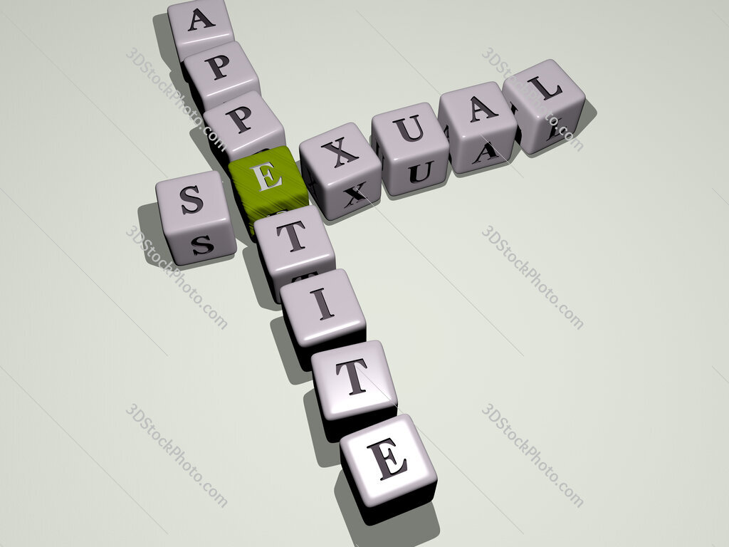 sexual appetite crossword by cubic dice letters