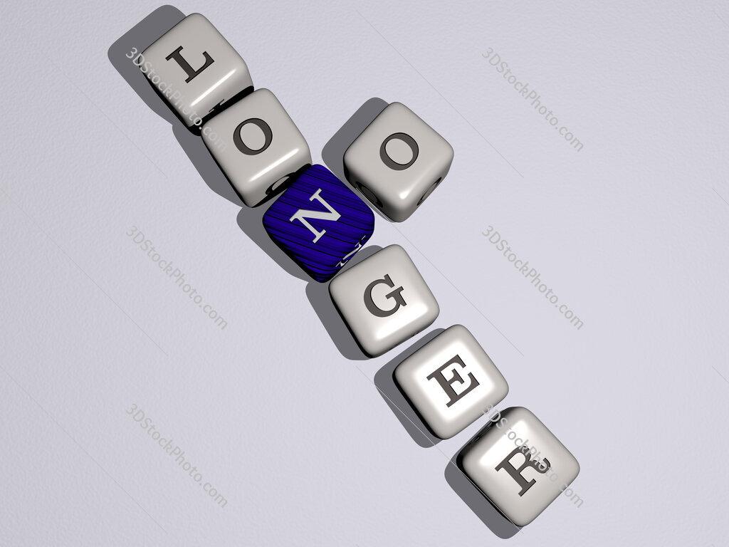 no longer crossword by cubic dice letters