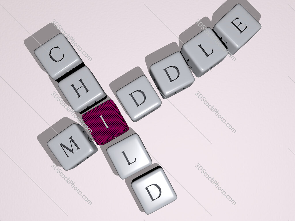middle child crossword by cubic dice letters