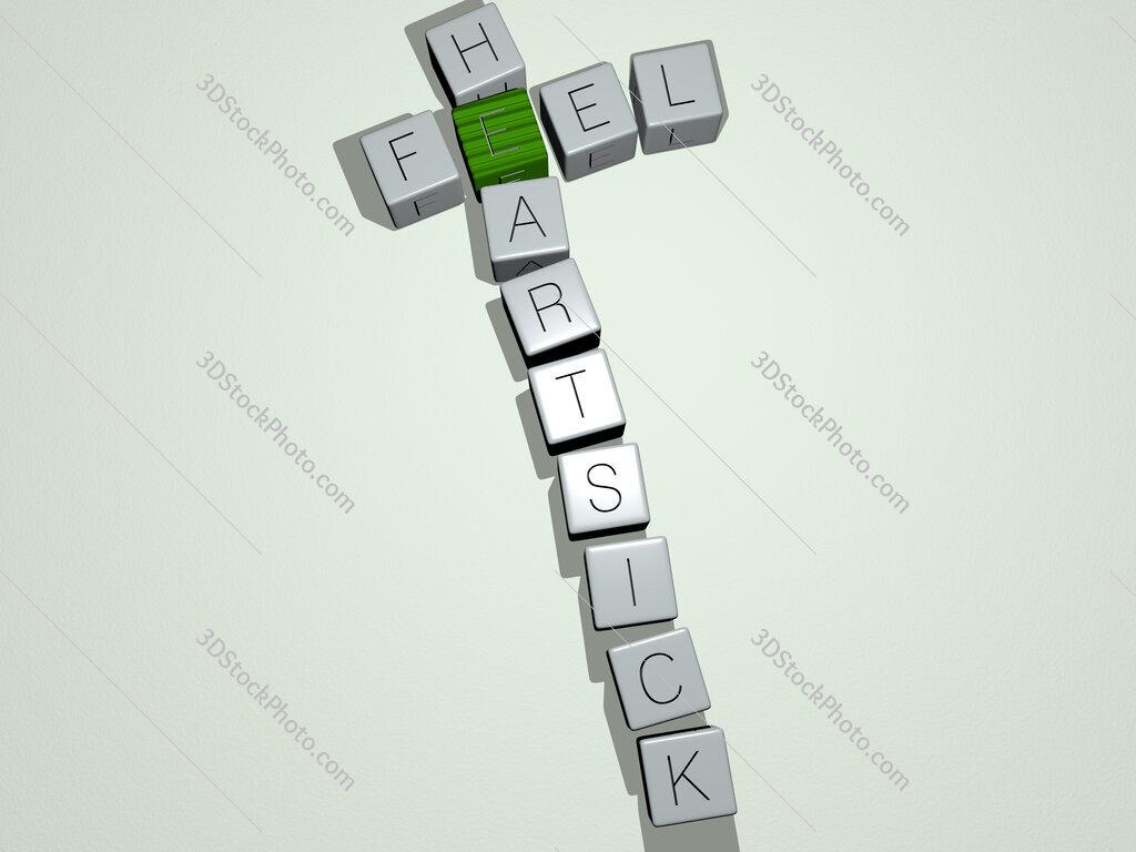 feel heartsick crossword by cubic dice letters