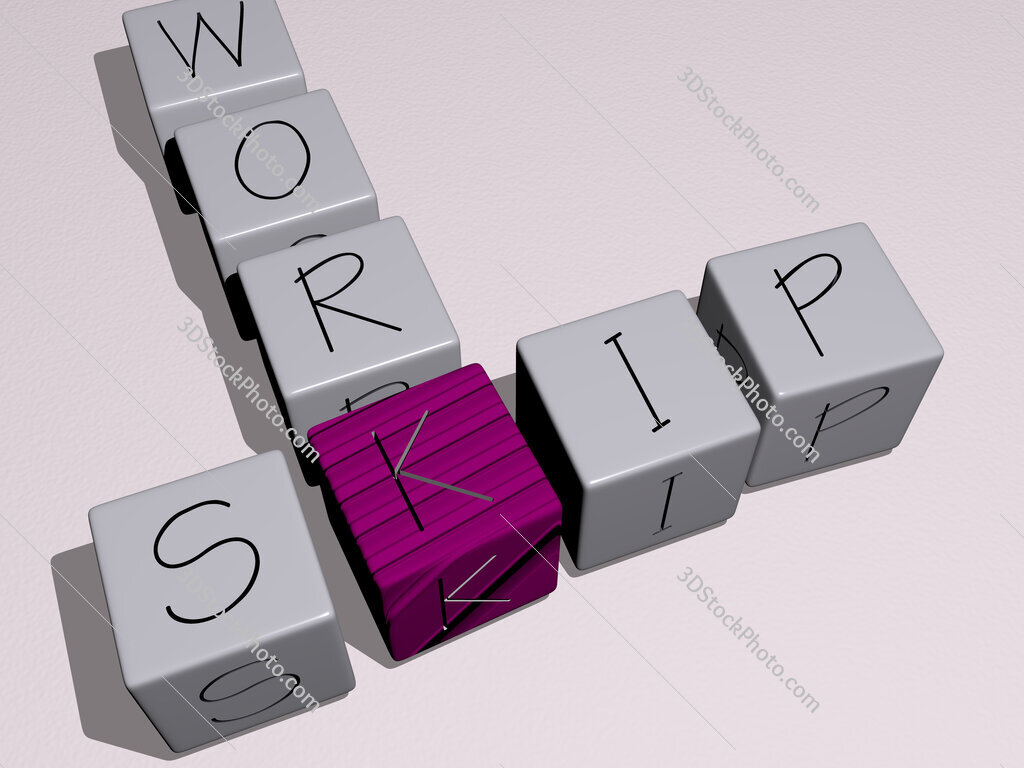 skip work crossword by cubic dice letters