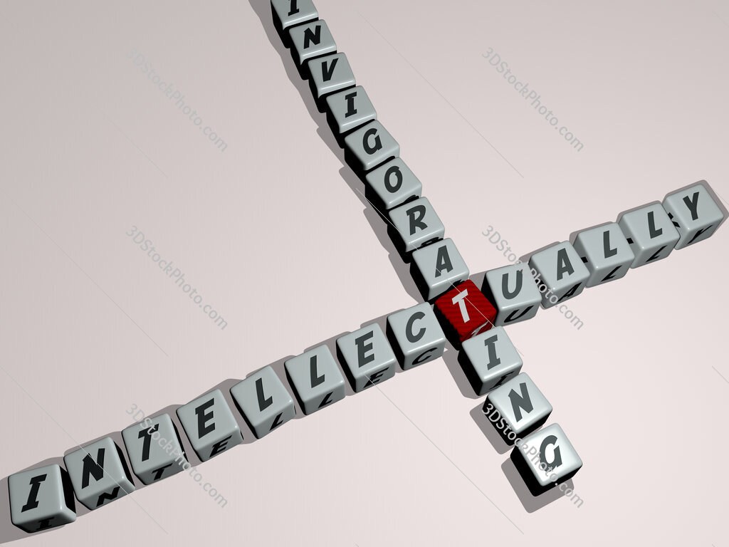 intellectually invigorating crossword by cubic dice letters