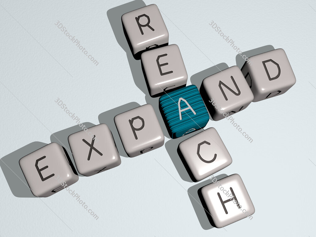 expand reach crossword by cubic dice letters