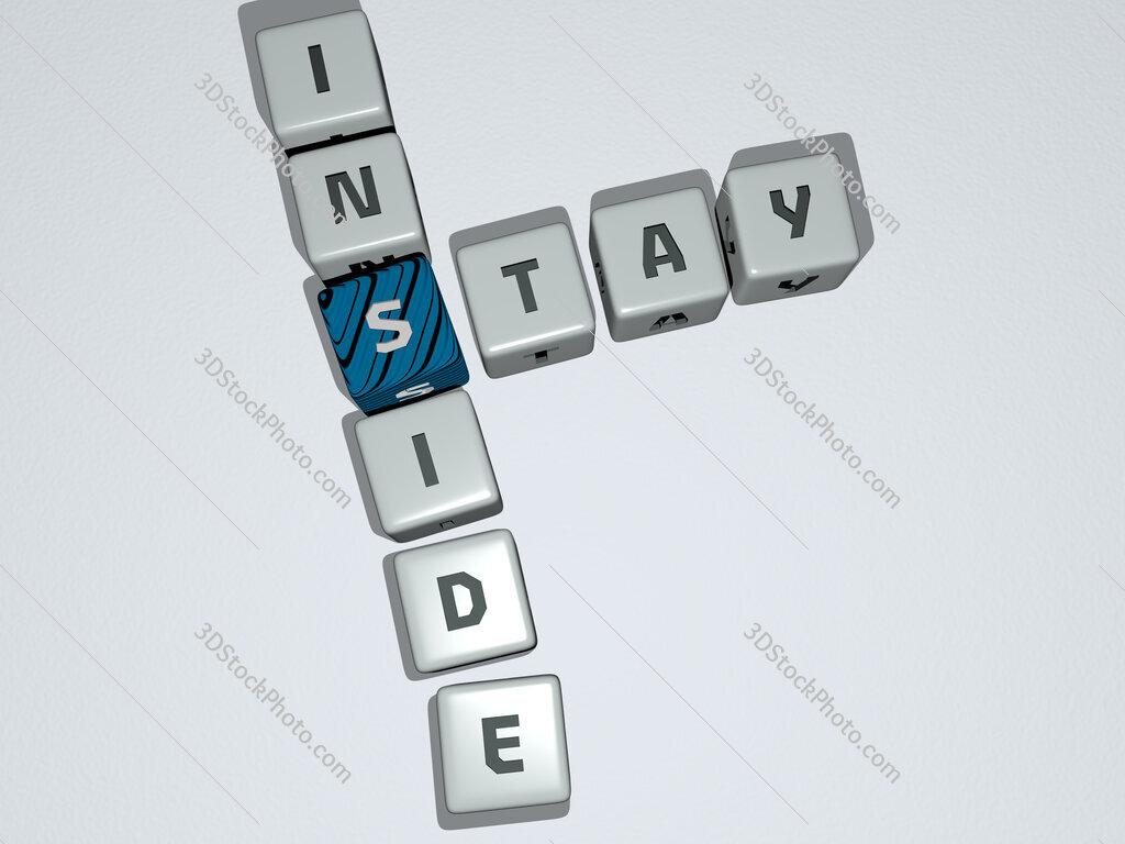 stay inside crossword by cubic dice letters