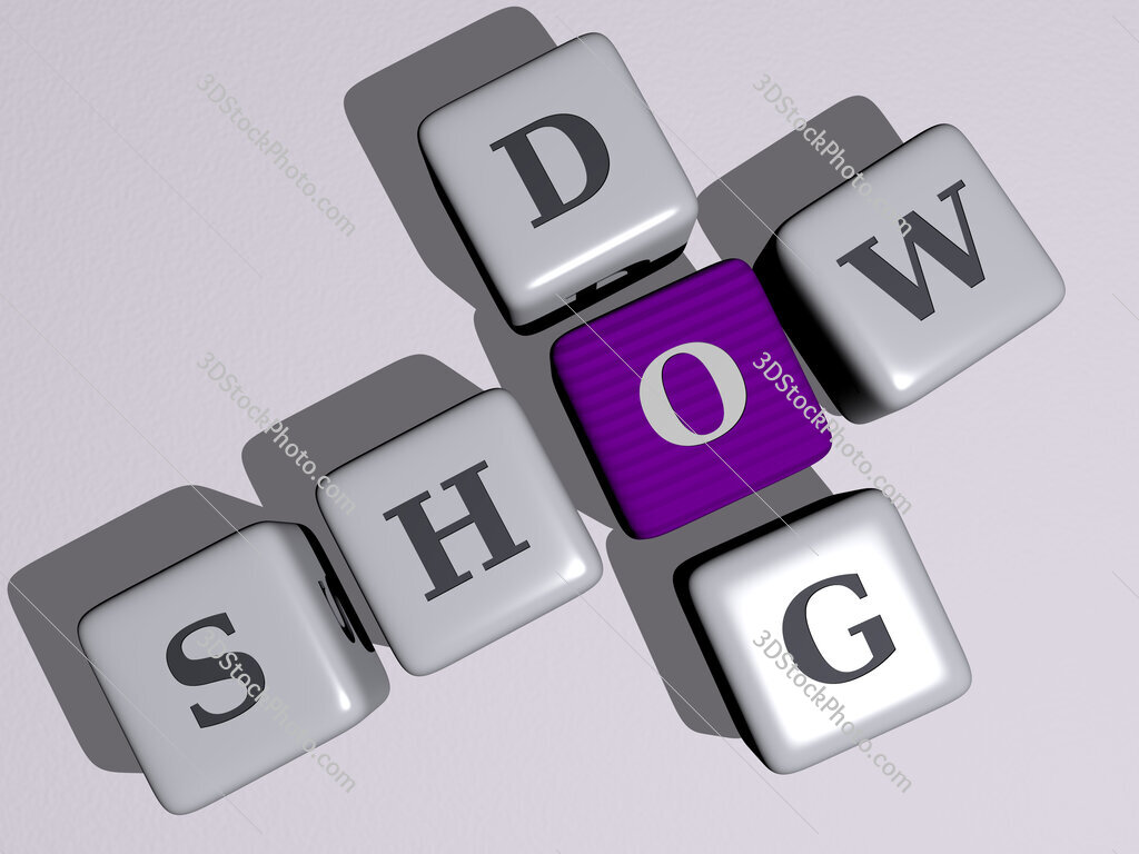 show dog crossword by cubic dice letters
