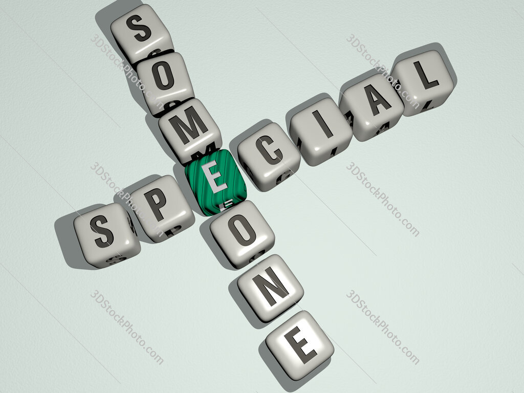 special someone crossword by cubic dice letters