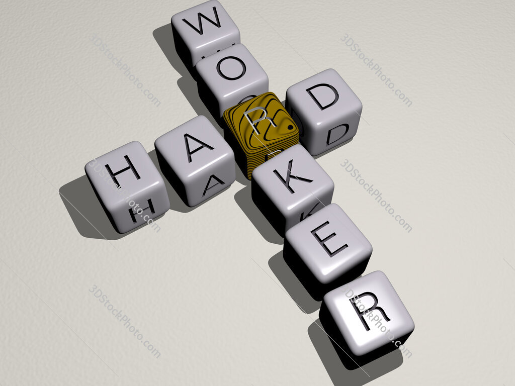 hard worker crossword by cubic dice letters