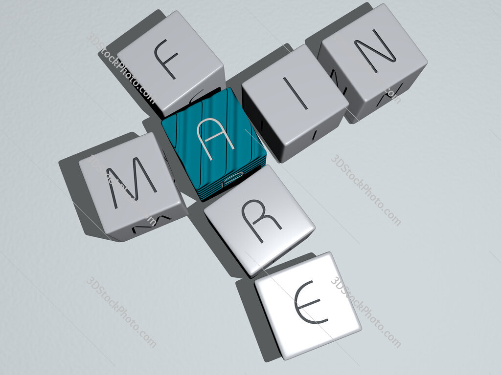 main fare crossword by cubic dice letters