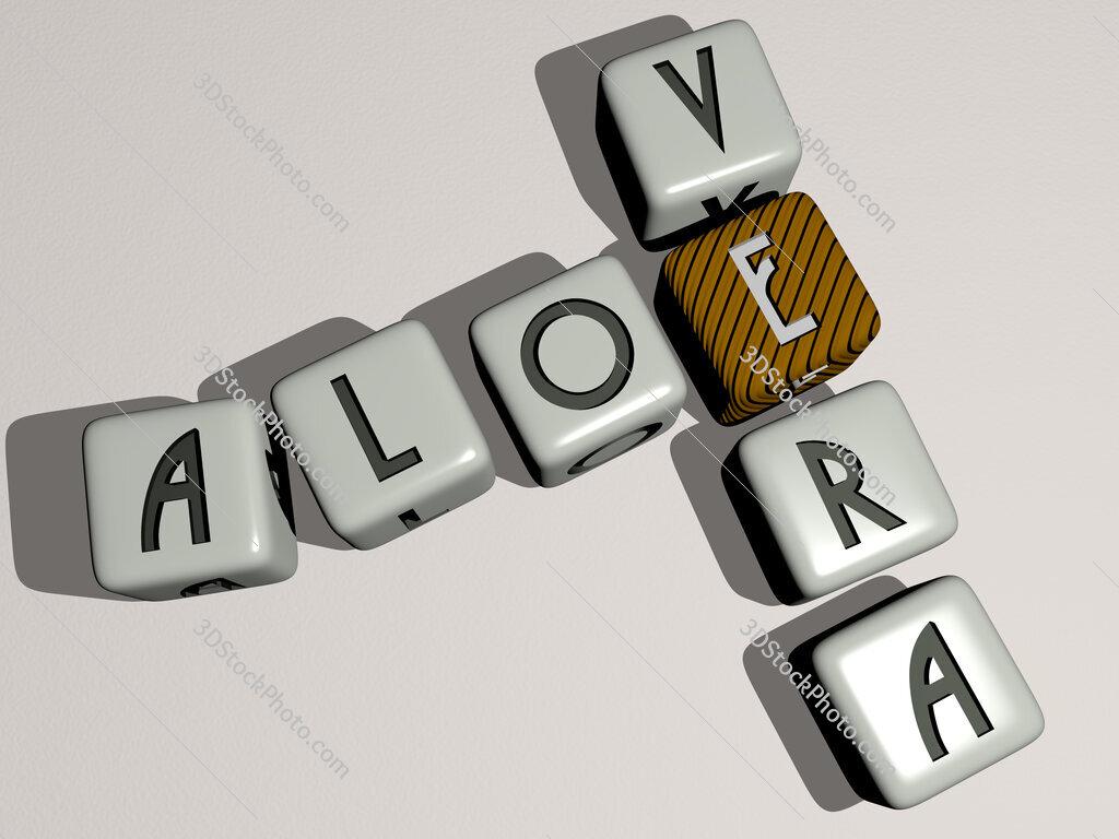 aloe vera crossword by cubic dice letters