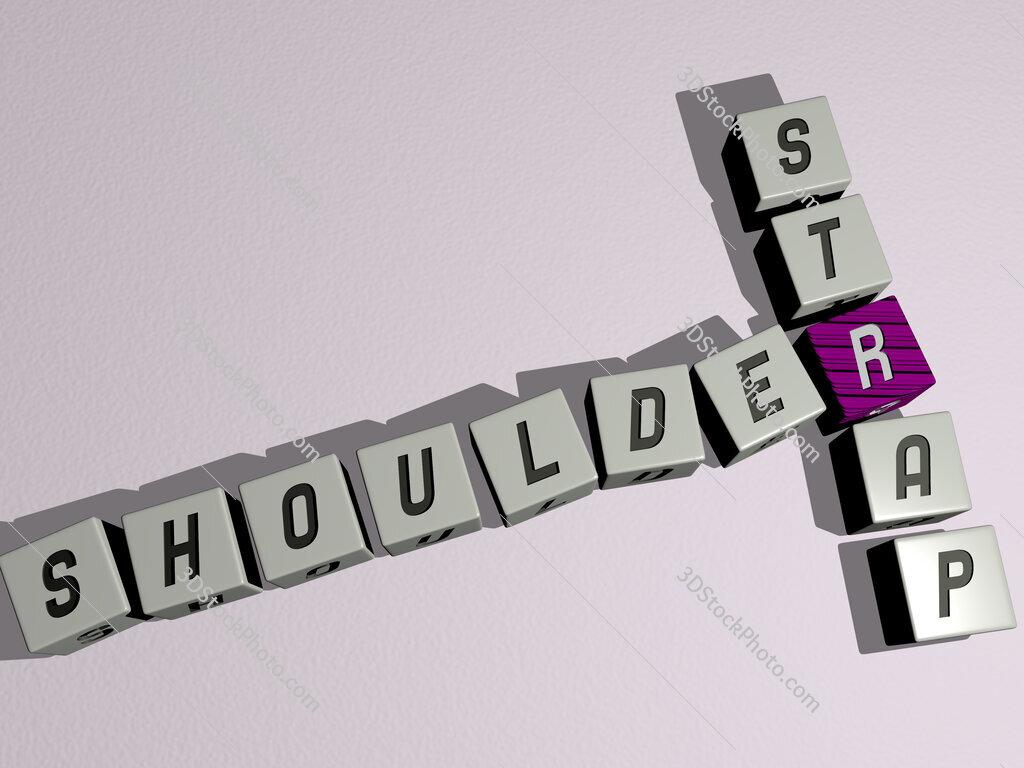 shoulder strap crossword by cubic dice letters