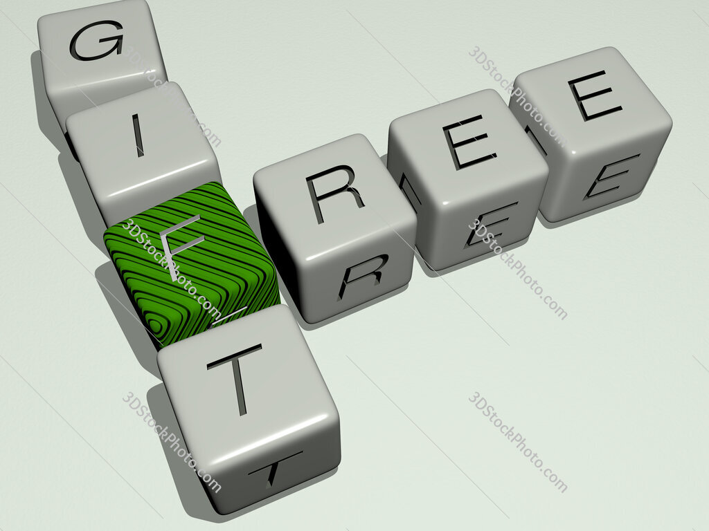 free gift crossword by cubic dice letters