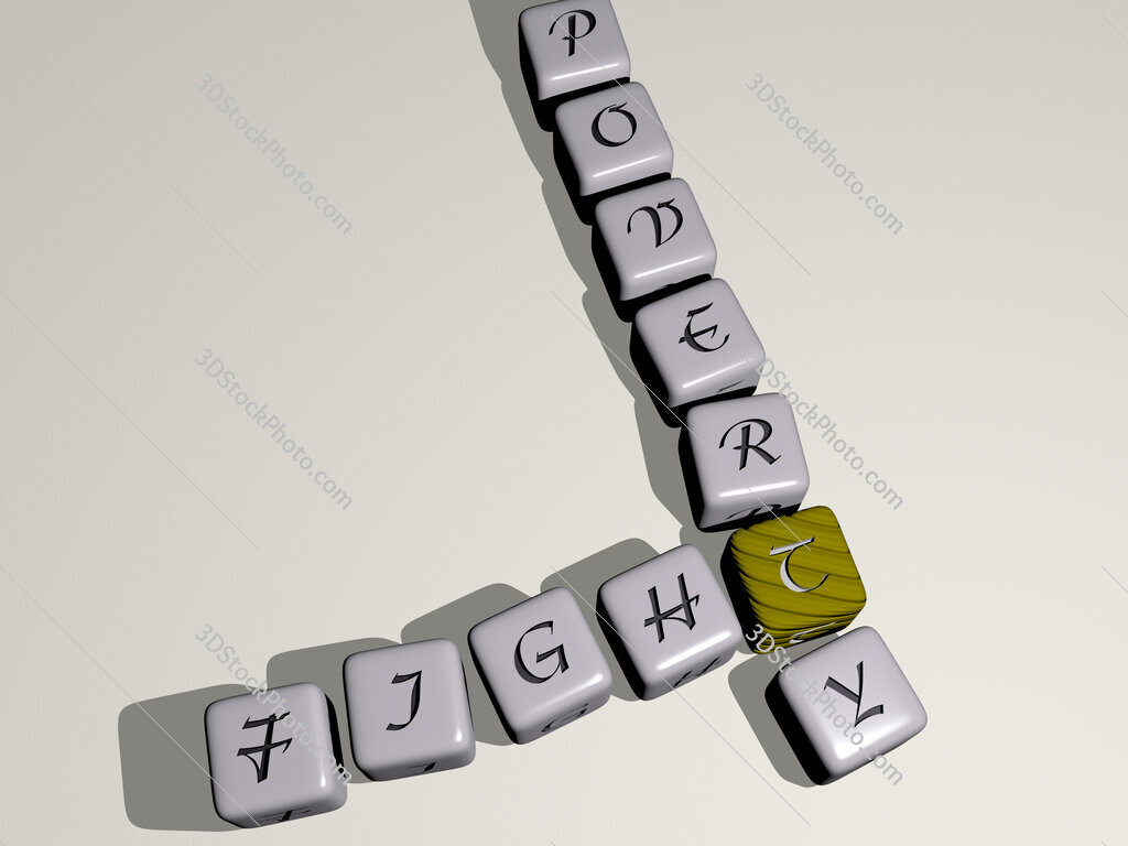 fight poverty crossword by cubic dice letters