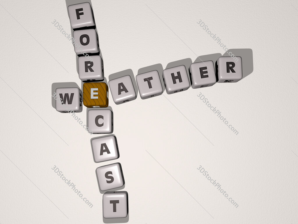 weather forecast crossword by cubic dice letters