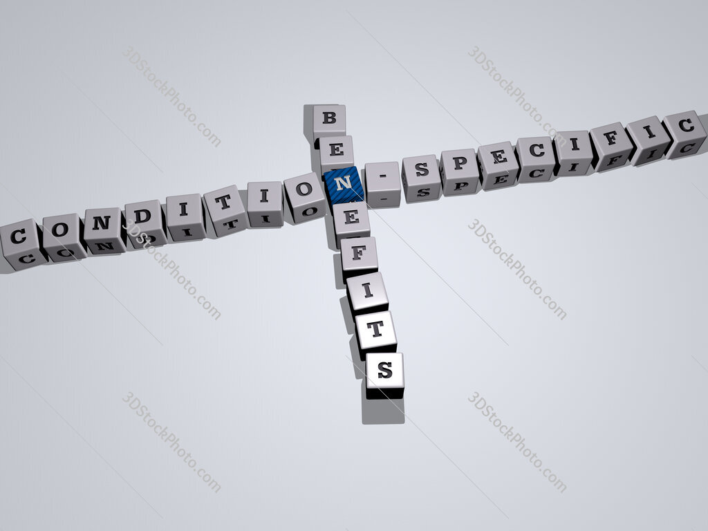 condition specific benefits crossword by cubic dice letters