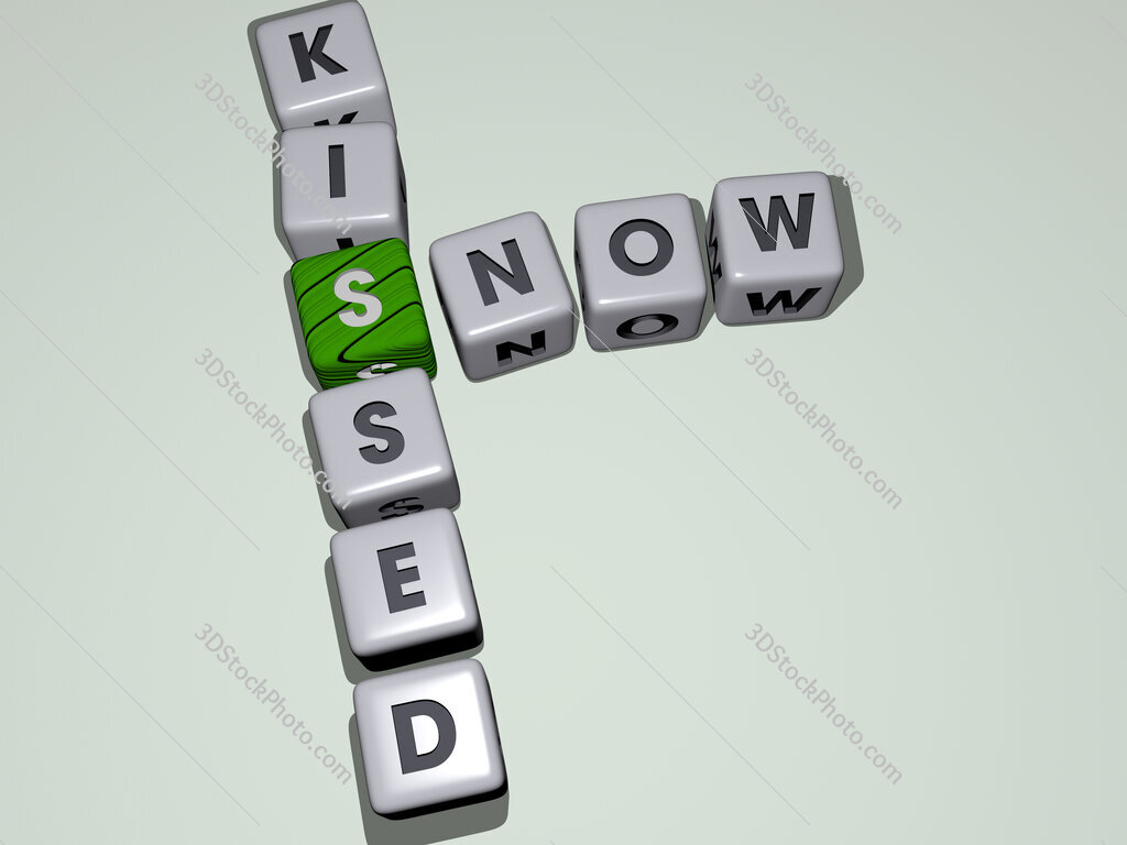 snow kissed crossword by cubic dice letters